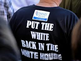 White Voters, Racism and the 2012 Presidential Election