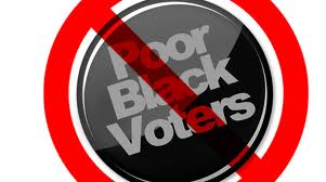 State restrictions affect African Americans ability to vote. Photo Credit: newamericamedia.org