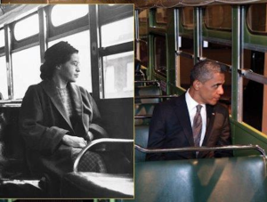 Rosa Parks Statue Unveiled As Voting Rights Act Is Challenged