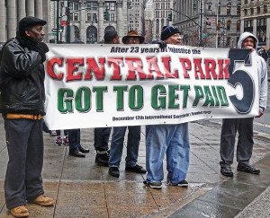 Central Park Five Fights For Justice