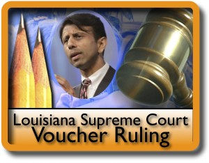 School Voucher Program is Challenged in Louisiana