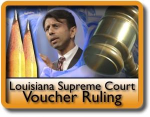 School Voucher Program is Challenged in Louisiana