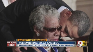 Maya Angelou was a phenomenal woman. Photo Credit: wcpo.com