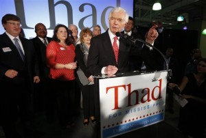 Blacks win big in Republican primaries in Mississippi and Oklahoma. Photo Credit: The Associated Press, Rogelio V. Solis