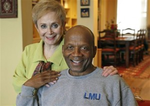 Aviva Futorian and Roy DeBerry have remained life-long friends. Photo Credit: The Associated Press, M. Spencer-Green, File